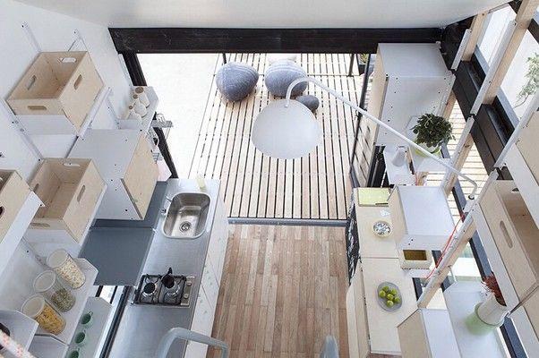 Arquiteta sul-africana cria casa impressionante com apenas 55 m² (Foto: Divulgação) http://glo.bo/1vq7v3Q
