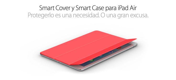 Smart Cover. Protegerlo es una necesidad. O una gran excusa #PorquéunaMac #GeniosApple #Apple #iPad #iPadmini