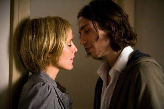 Emma Caulfield and John Patrick Amedori in TiMER movie
