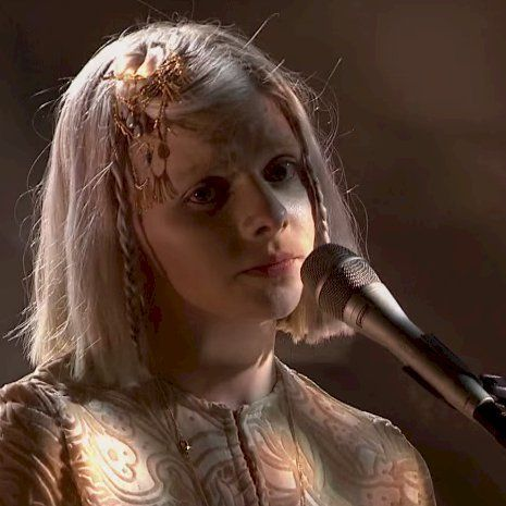 "goddessofdawn:  ""What power, the whole noisy, turbulent world goes silent & tears well up from this particular performance. AURORA: https://youtu.be/kJ095S0MmnA  """
