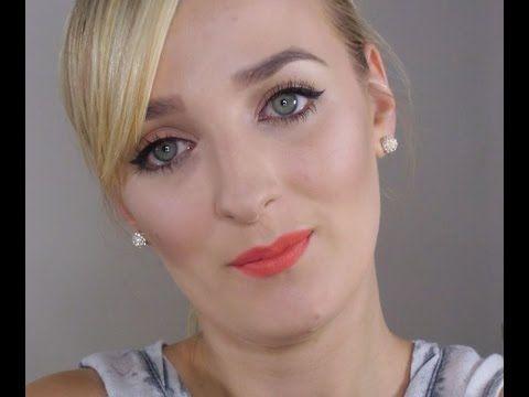 Dzienny makijaż dla osób z CIEPŁYM typem urody