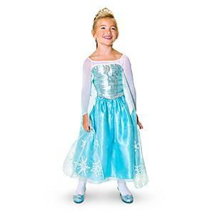 The perfect Elsa costume for the Frozen fan in your life is available from the Disney Store.