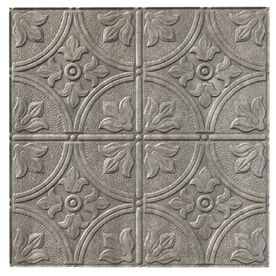 Paintable Ceiling Tiles - possibly a decent option for rental where the landlord doesn't want the walls painted; just cover one of the walls with the tiles and paint them what you want, then remove when you move out!