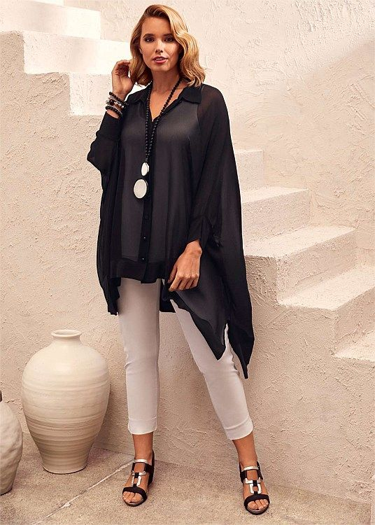 Plus Size Clothing New Arrivals | Taking Shape - ON THE MOVE SHIRT