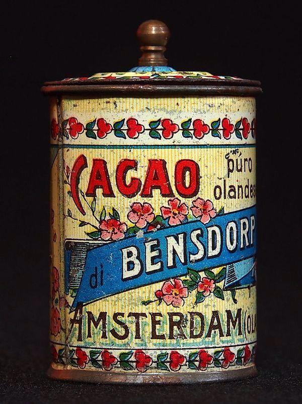Bensdorp cacao.