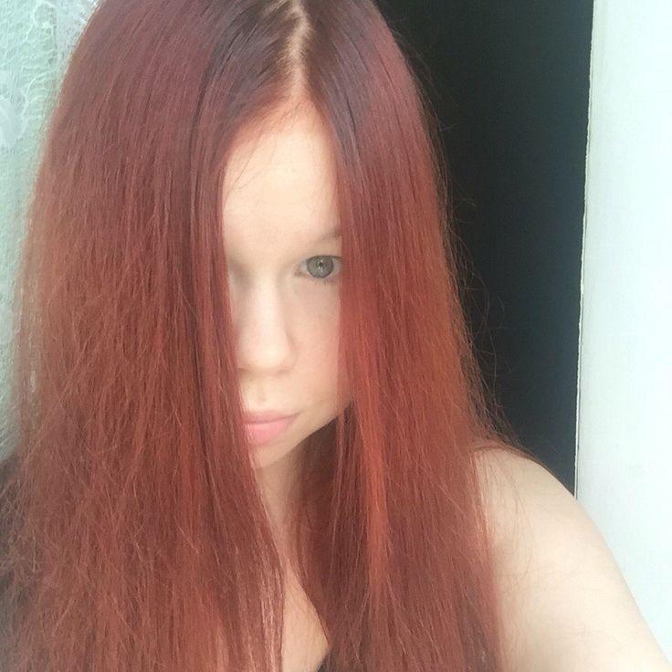 Волосы после хны Хербул