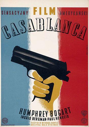 Michael Curtiz's Casablanca. Art by Eryk Lipinski.