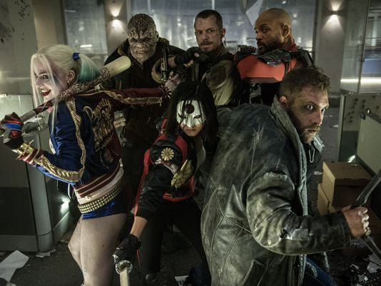 Suicide Squad  USA Today's report about Batman v Superman also has a new image from Suicide Squad of the dysfunctional team.