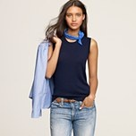 cashmere tee  from j crew