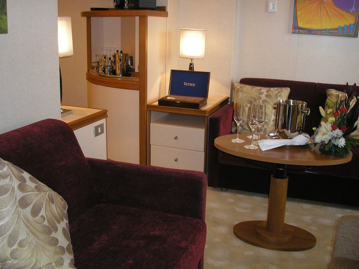 Family Suite   Seating Area Bit of  family time  perhaps  P O Cruising  44 best Life on Board images on Pinterest   Cruises  Cruise ships  . P O Ventura Dining Times. Home Design Ideas