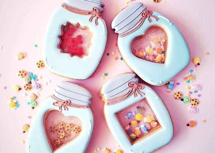 もはや、アートの域♡ファンタジーで綺麗な『ステンドグラスクッキー』の進化が止まらない!のトップ画像