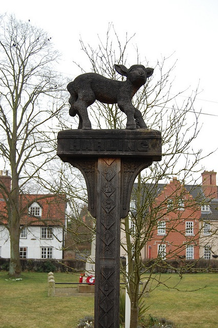 East Harling Village Sign by Cameron Self.     I lived in East Harling when I first left home