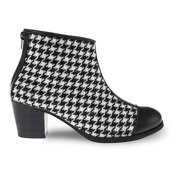 #COCO #Butydamskie  #tkanina  #skóra  #2016 #manista  #manistashop  #botki #women shoes   #fabric  #skin #2016    #booties #pepitka #houndstooth