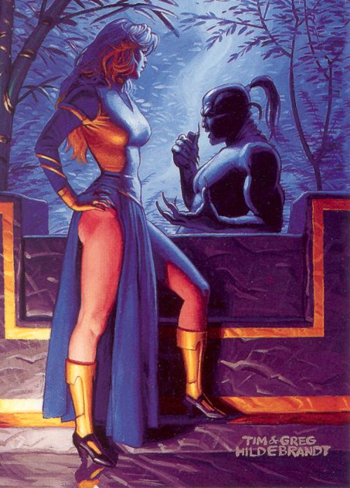 Star Wars Shadows of the Empire -- Xizor and Guri (1996) | by Paxton Holley