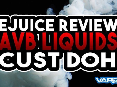 Hey vapers in todays vape 935 video we are taking a look at avb liquids custard doh e juice. Custard Doh by avb liquids is a custard donut flavoured ejuice. This desert flavoured e juice is fantastic and custard doh by avb liquids is definitely one of my favourite all day vapes. The e liquid Is AVB Liquids take on a custard donut and its lovely! in this video we review cust doh and tell you our thoughts and feelings about this great derset custard donut flavoured e juice!<br><br>Vape 935 is…