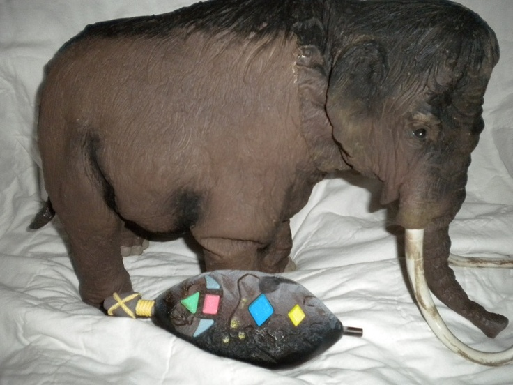 African Elephant Toys For Boys : Wow wee dinotronics infared remote control quot wooly
