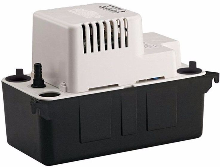 115-Volt Condensate Removal Pump Auto Start and Stop Barbed Discharge Adapter #pump