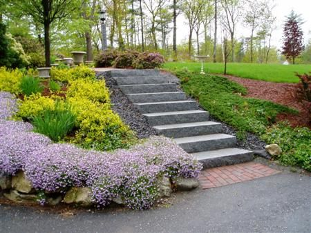 20 best images about ideas for the house on pinterest for Sloped driveway options