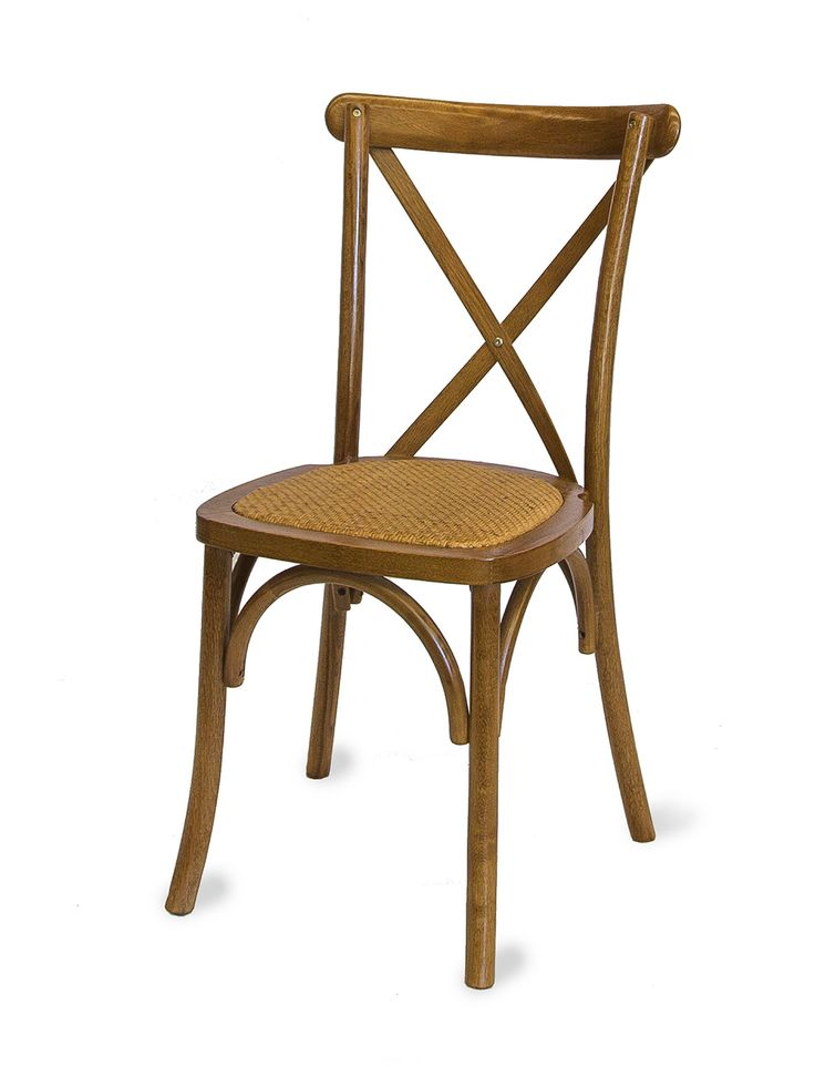 Timber Cross Back Chair - South Coast Party Hire