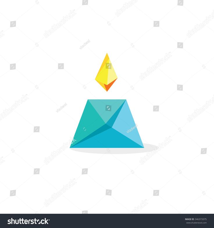 Candle flame vector abstract paper style, geometric vector fire symbol, origami flat icon, shop logo concept, flaming, natural product, sign, gas light logotype design illustration isolated on white