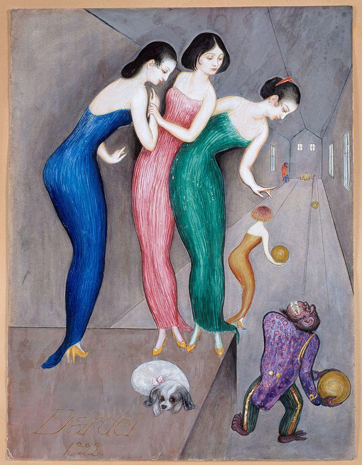 Tavla av Nils von Dardel