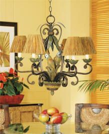 Tropical Decorating And Furniture Parrot Lovebird Chandelier Tommy Bahama Design Ideas
