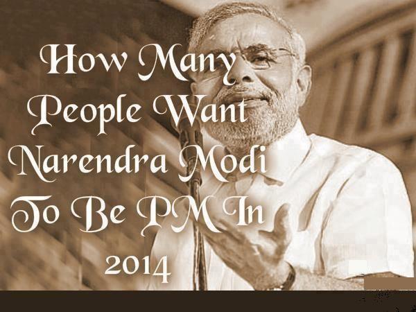 How Many People Want Narendra Modi