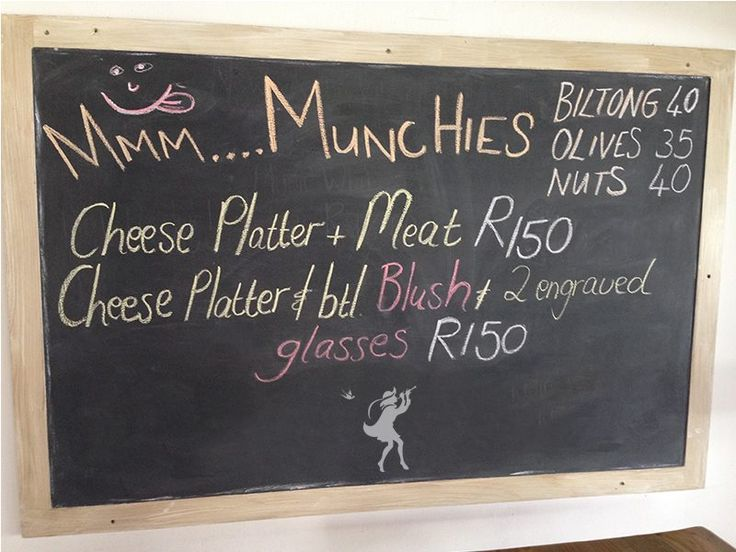 Sip and snack. Come in and enjoy our lovely wines and some delicious munchies that we have on offer for you daily at the Tasting Room.