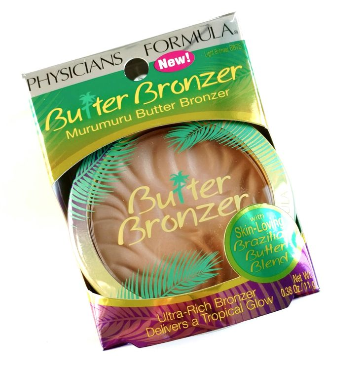 Smells great and has a natural finish. Not orange or fake looking. Physicians Formula Butter Bronzer