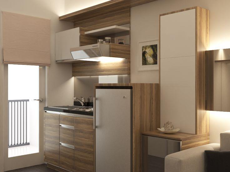 Studio apartment Kitchen Greenbaypluit