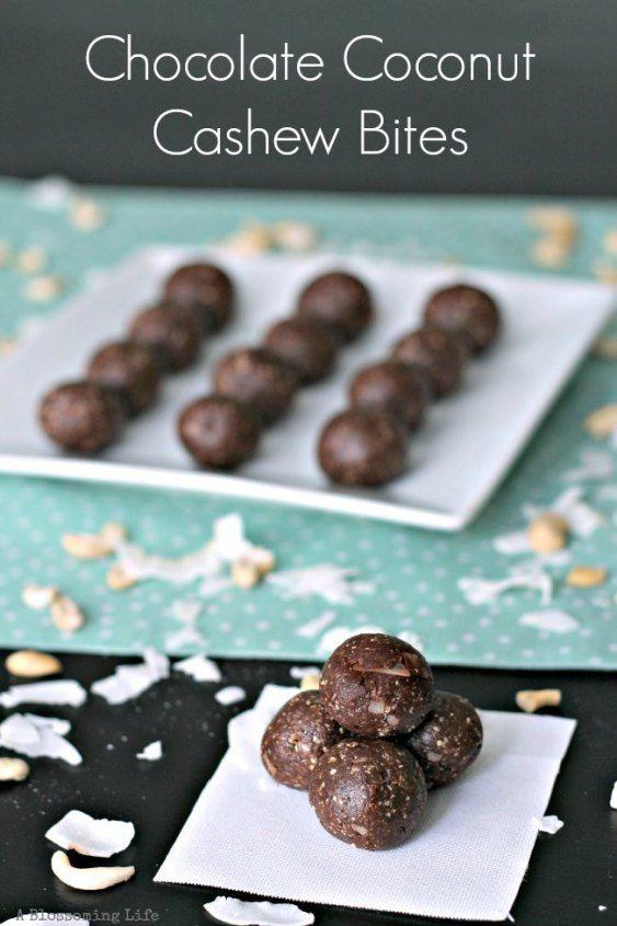 Chocolate Coconut Cashew Bites