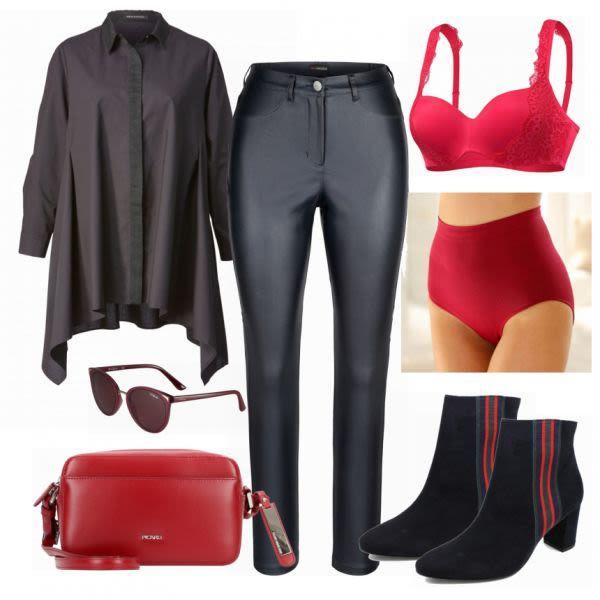 Große Größen Outfits: GHappy Red  bei FrauenOutfits.de #mode #damenmode #frau…