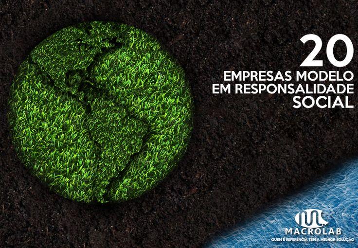 #Responsabilidade #Socioambiental :) Veja Alguns #Modelos, #inspire-se e #Siga o #Exemplo ai na sua #Empresa. | Produtos Essenciais para Sua Empresa -> Macrolab.com.br