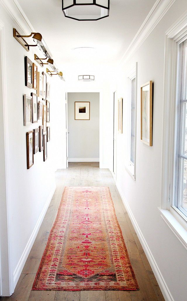 Help For A Long Boring Hallway {and what not to do} - laurel home