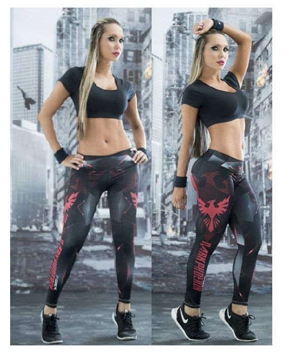 Dark Phoenix Leggings #Superhero #supergirls #leggings #Marvel #Comics #fitness #girl