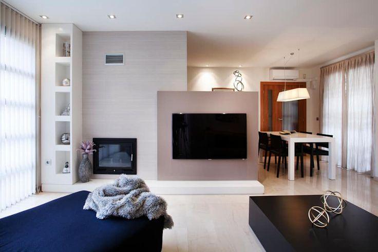 Casa unifamiliar en el Grao de Castellon: Salones de estilo moderno de Gemmalo arquitectura interior