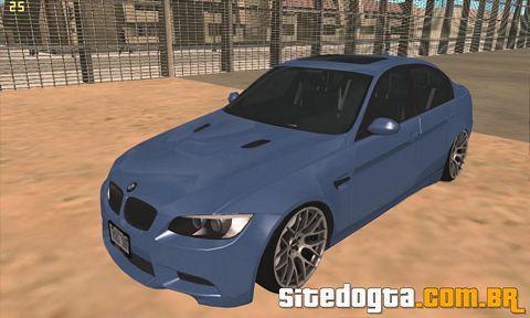 BMW M3 (E90) Sedan 2009 para GTA San Andreas