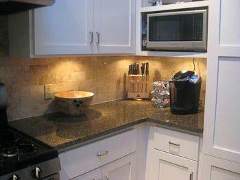 Austin Granite Company Tropical Brown Granite Kitchen