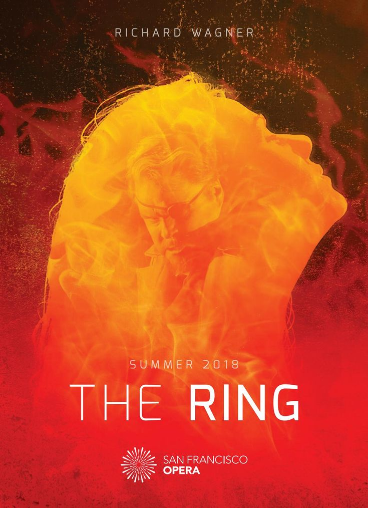 Richard Wagner's THE RING Summer 2018 Brochure