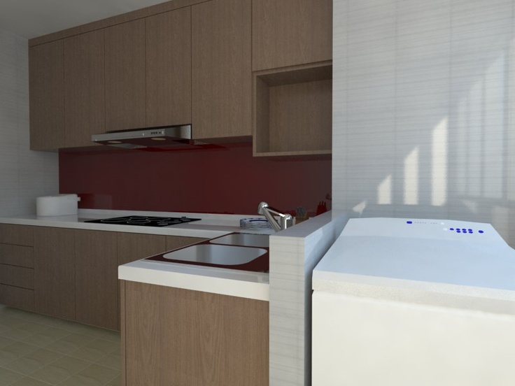 16 best images about 3rm hdb on pinterest singapore - 3 room hdb kitchen renovation design ...