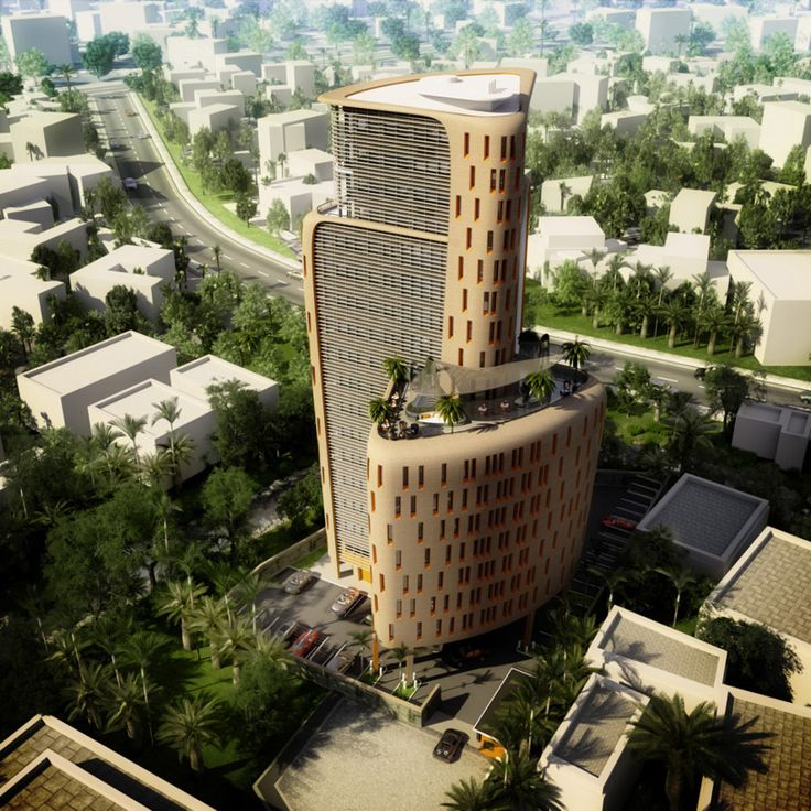 Architecture in Nigeria | Construction is set to get underway in Lagos at the site of Ramzi Towers, a residential project designed by the London studio of SPARK architects. Commissioned by athena capital investment, the landmark scheme is the international design office's first significant undertaking in Africa, setting a new standard for contemporary living for the region's emerging economy.
