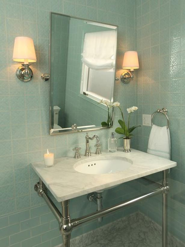 95 best HOME Powder Rooms images on Pinterest | Bathrooms, Half ...