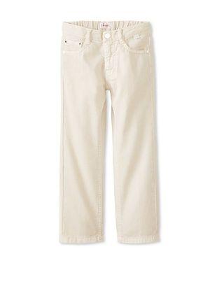 50% OFF Il Gufo Kid's Five Pocket Jeans (Stone)