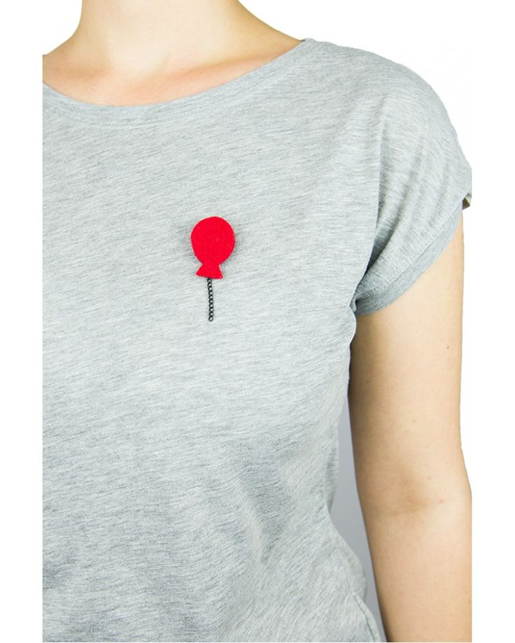 Balon Broş - Kırmızı#broş #broche #keçe #keçebroş #balon #balonbroş #elyapımı #giyenbayan #giyenbayanbutik https://store.giyenbayan.tv/index.php?route=product/product&path=60&product_id=75