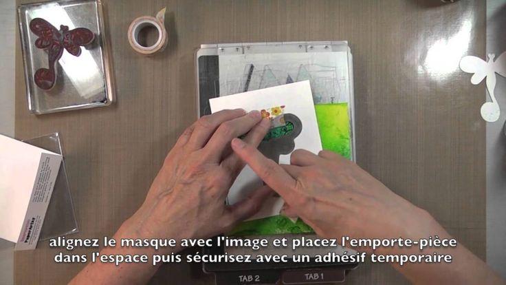"""Panneau en toile de jute décoré """"imagine"""" altered burlap panel"""