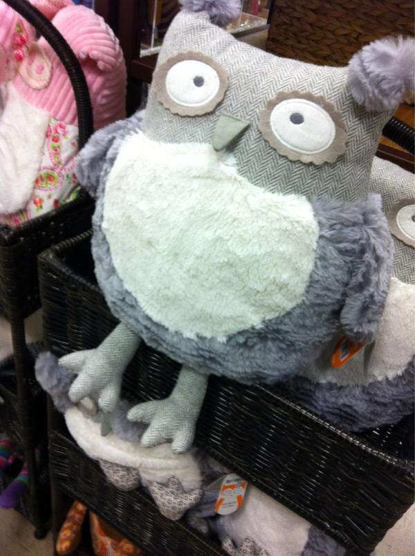 Pier 1 Grey Owl Plush Toy Animal Owl Pinterest Owl