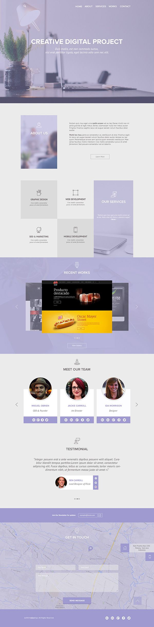 31 best Web Design Inspirations images on Pinterest | Web design ...