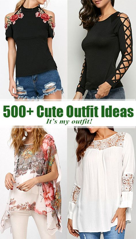 500+Cute Outfit Ideas
