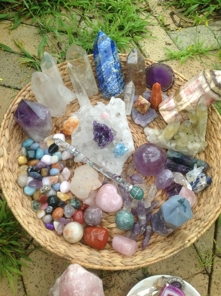 1000 Images About Crystal Healing Displays ☾ On