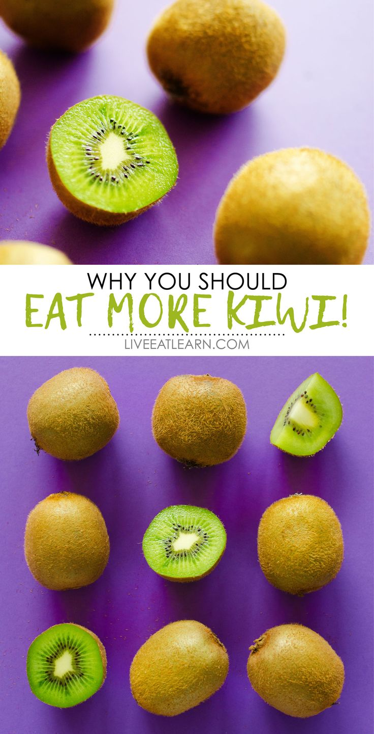Everything you need to know about healthy kiwifruit, including different kiwi varieties, storage tips, kiwi nutrition information, and more! // Live Eat Learn